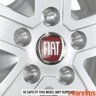 Fiat OE Caps fit this wheel